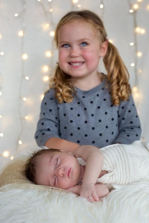 Neugeborenenfotos zu Weihnachten-14