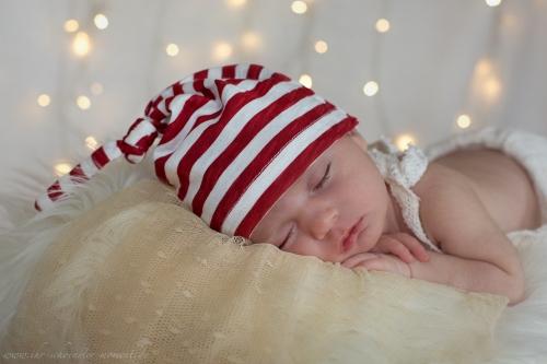 Neugeborenenfotos zu Weihnachten-16