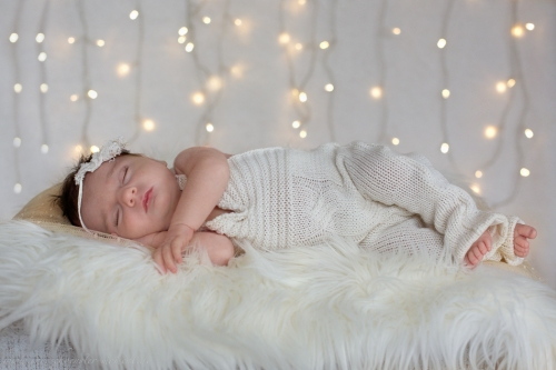 Neugeborenenfotos zu Weihnachten-8
