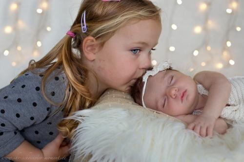 Neugeborenenfotos zu Weihnachten-9