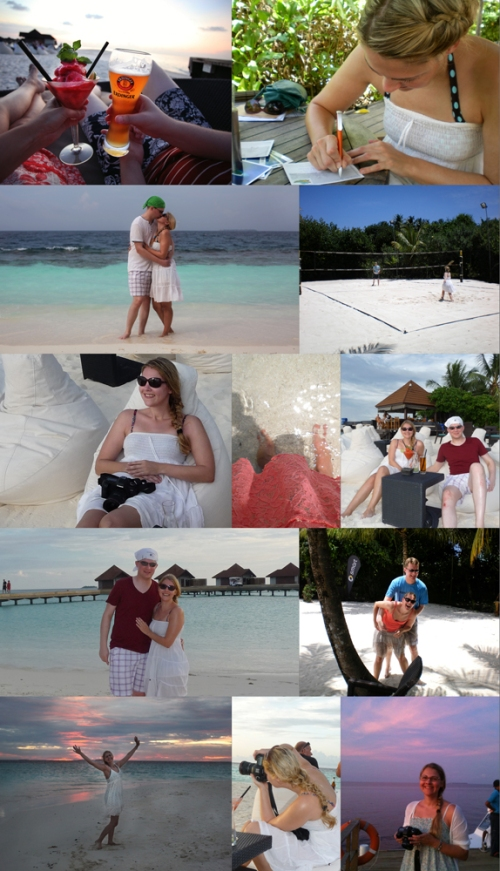 collage malediven Blog
