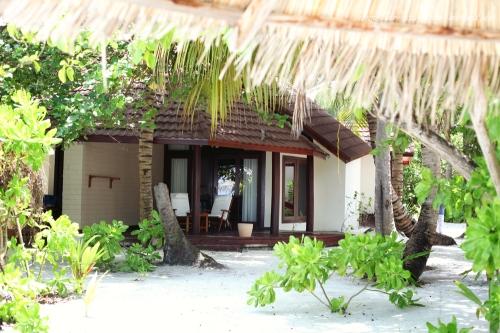 Reisefotografie Malediven Bungalow