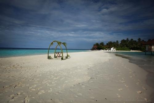 Reisefotografie Malediven Sundowner