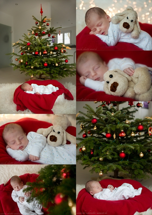 Collage Weihnachtsfotos Maximilian