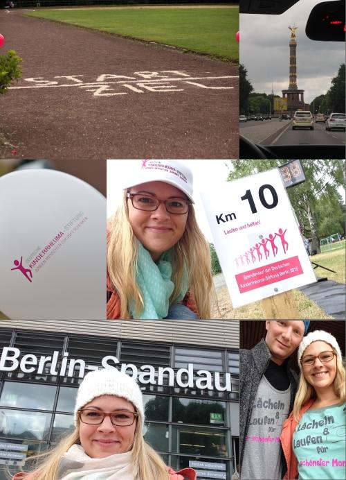 Collage Berlin Spendenlauf Kinderheuma