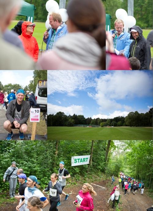 Collage Berlin Spendenlauf Kinderrheuma